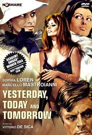 subtitrare Yesterday, Today and Tomorrow / Ieri oggi domani (1963)