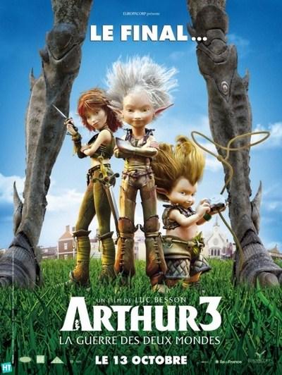 subtitrare Arthur et la guerre des deux mondes  /  Arthur 3 The War of the Two Worlds   (2010)