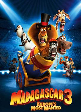 subtitrare Madagascar 3: Europe`s Most Wanted (2012)