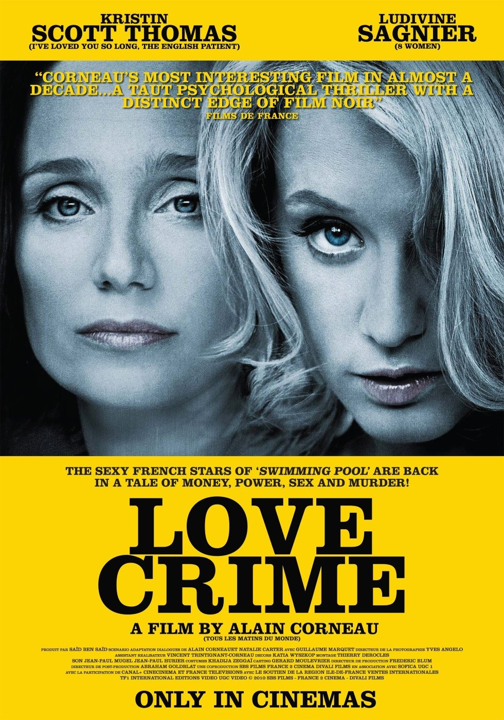 subtitrare Crime d`amour  .  Love Crime   (2010)