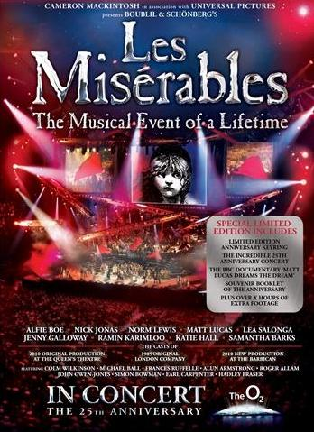 subtitrare Les Miserables in Concert: The 25th Anniversary (2010)