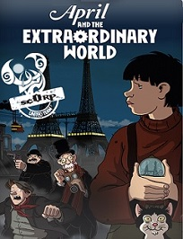 subtitrare April and the Extraordinary World / Avril et le monde truque  (2015)